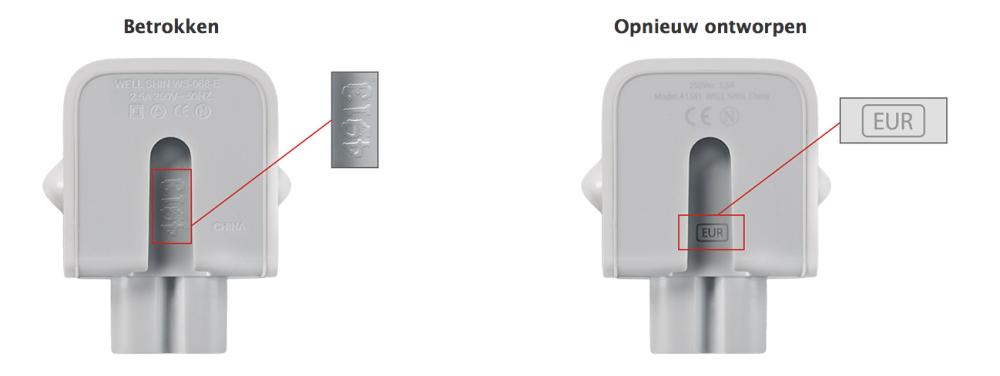 Brisk ICT Appe shop Groningen betrokken adapters Apple