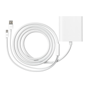 Mini DisplayPort-naar-dual-link-DVI-adapter
