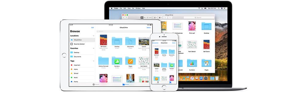 iCloud Drive op alle apparaten