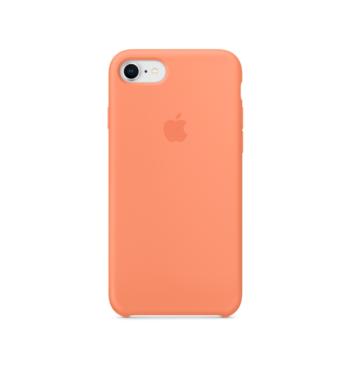 iPhone 8 7 Silicone Case Peach
