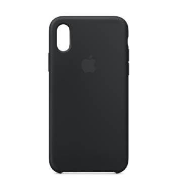 iPhone XS siliconen case Black