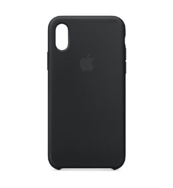 iPhone XS siliconen case Black