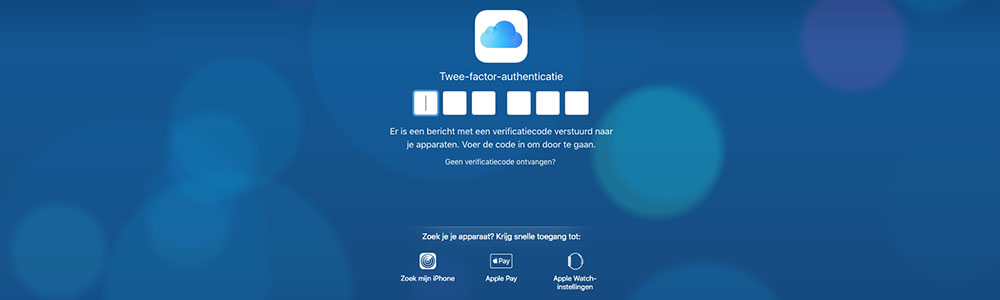 twee factor authenticatie